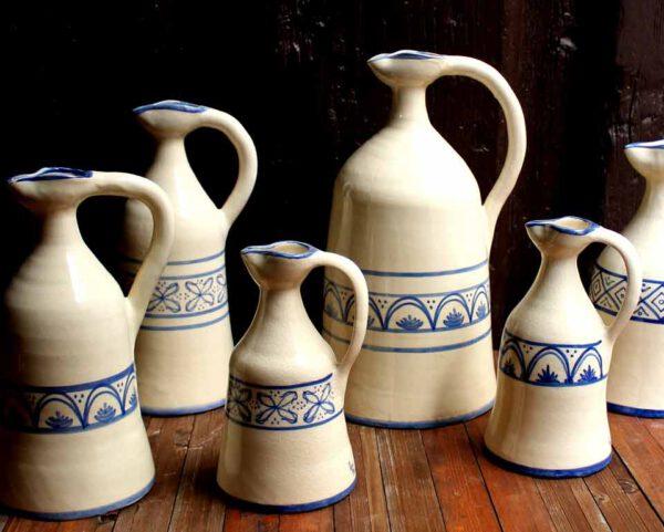 Alcuza cerámica siglo XVII