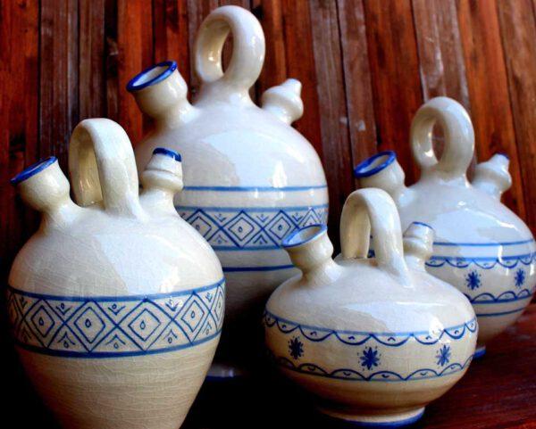 Botijo cerámica siglo XVII