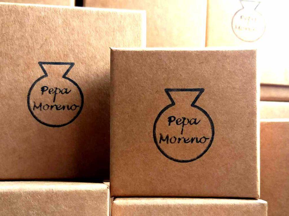 pendientes ceramica caja regalo